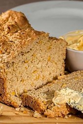 Fresh Cornbread Loaf, for the Love of Food