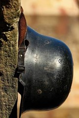 A German World War II Helmet, for the Love of History | Unique Journal |