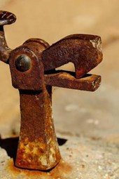 A Rusted Old Doorstop