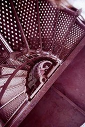 The Stairs Inside a Lighthouse