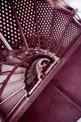 The Stairs Inside a Lighthouse | Unique Journal |