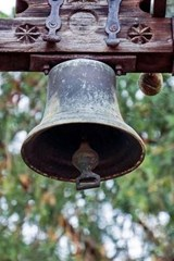 An Antique Brass Church Bell | Unique Journal |