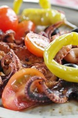 Octopus and Fish Antipasto, for the Love of Food | Unique Journal |