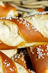 Pretzel Bread, for the Love of Food