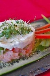 Salmon Tartare, for the Love of Food