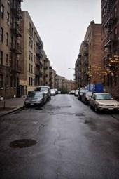 Street in Harlem, New York Journal
