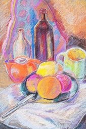 Still Life with Teapot Painting Journal