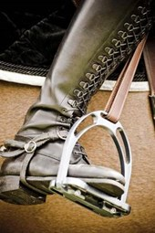 Boot in a Stirrup Journal - Horse Jumper