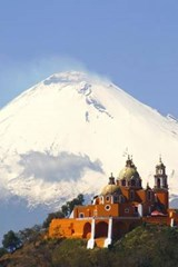 Church at Cholula Puebla Mexico Journal | Cool Image |