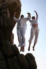 Cliff Jumping Together Journal | Cool Image |