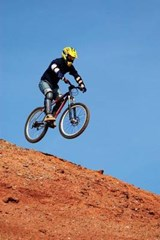 Fly Mountain Biker Journal | Cool Image |