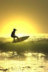 Sunset Surfer Journal | Cool Image |