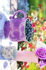 Blueberries and Purple Roses | Unique Journal |