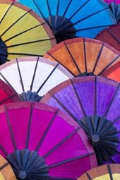 Colorful Umbrellas Journal