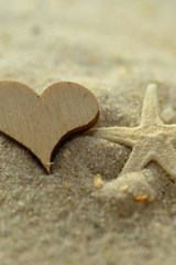 Wooden Heart and a Starfish | Unique Journal |