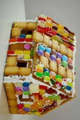 Gingerbread House, Ready for Christmas | Unique Journal |