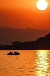 Lake Malawi Sunset Journal