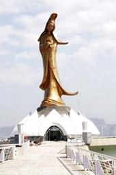 Statue of Guanyin in Macau Journal
