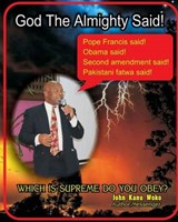 God the Almighty Said! | John Kanu Woko |