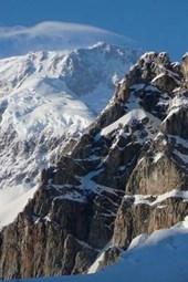 Website Password Organizer Exposed Rock on MT McKinley in Alaska