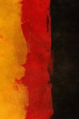 A Painted German National Flag | Unique Journal |