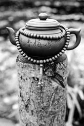 Teapot and Prayer Beads