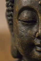 The Profile of a Buddha Statue