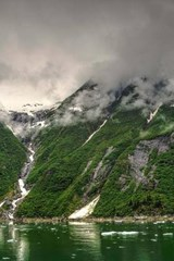 Website Password Organizer Tracy Arm Fjord in Alaska | Unique Journal |