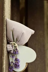 Lavender Flowers and Scent with a Heart | Unique Journal |