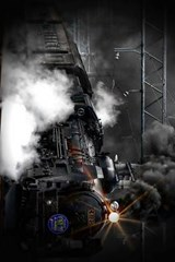 A Steam Train Locomotive Coming Into the Station | Unique Journal |