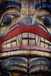 The Face of the Totem Pole