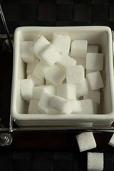Sugar Cubes in a Box Ready for Coffee or Tea | Unique Journal |