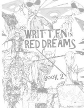 Written in Red Dreams - Book