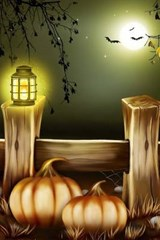 Holiday Pumkins and a Fence on Halloween | Unique Journal |