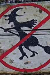 Witch Prohibition Witches Not Allowed