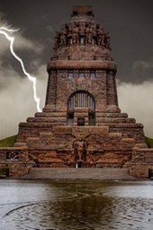 Monument to the Battle of the Nations in Germany