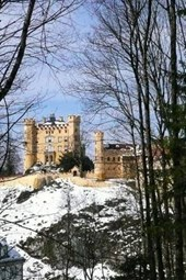 The Scenic Hohenschwangau Castle in Bavaria