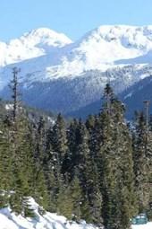 Lillooet Canada Coast Mountain Range