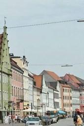 Narrow Street in Freising, Bavaria