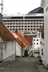A Narrow Alley in Stavanger, Norway | Unique Journal |