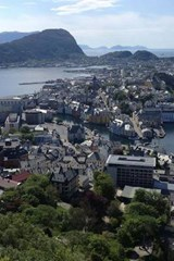 An Aerial View of Aalesund, Norway | Unique Journal |
