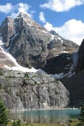 Ringrose Peak in British Columbia, Canada