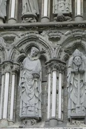 Nidaros Cathedral Sculptures in Trondheim, Norway
