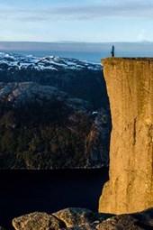 The Cliffs of Preikestolen, Norway