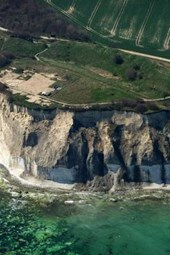 Aerial View of Cape Arkona in Germany