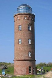 Marine Navigation Tower Lighthouse in Cape Arkona Germany