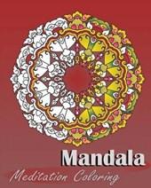 Mandala Meditation Coloring