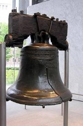 Liberty Bell at Independence National Historical Oark Philadelphia Journal