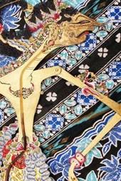 Wayang Kulit Puppet on Batik Journal