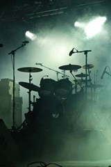 Drum Set at a Rock Concert | Unique Journal |